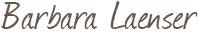 Unterschrift von Barbara Laenser