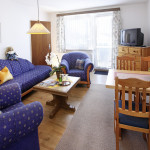 Ferienwohnung Borkum Wohn- und Essraum | Ferienwohnungen in Büsum