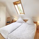 Ferienwohnung Borkum Schlafzimmer 1 | Ferienwohnungen in Büsum Haus Sonnenschein
