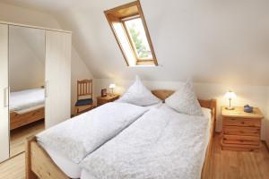 Ferienwohnung Borkum Schlafzimmer 1 | Ferienwohnungen Büsum Haus Sonnenschein