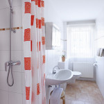 Ferienwohnung Borkum Duschbad mit WC | Ferienwohnungen Büsum Haus Sonnenschein