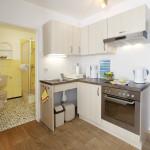 Ferienwohnung Föhr - Einbauküche | Ferienwohnungen Büsum Haus Sonnenschein