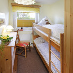 Ferienwohnung Helgoland - Schlafzimmer 2 | Ferienwohnungen Büsum Haus Sonnenschein