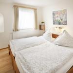 Ferienwohnung Norderney - Schlafzimmer | Ferienwohnungen Büsum Haus Sonnenschein