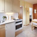 Ferienwohnung Sylt - Abgeschlossene Wohnküche mit Esstisch | Ferienwohnungen Büsum Haus Sonnenschein