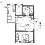 Ferienwohnung Sylt Wohnungsschnitt | Ferienwohnungen Büsum Haus Sonnenschein