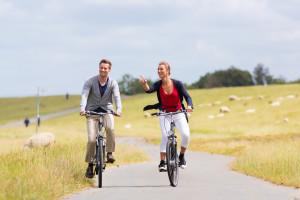 Rad fahren an der Nordseeküste | Ausflugstipps vom Haus Sonnenschein - Ferienwohnungen Büsum