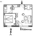 Ferienwohnungen Föhr Wohnungsschnitt | Ferienwohnungen Büsum Haus Sonnenschein